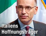 Italiens Regierungschef Enrico Letta