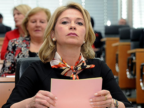 Stronach-Abgeordnete Elisabeth Kaufmann-Bruckberger