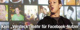 Facebook-Grüner Mark Zuckerberg