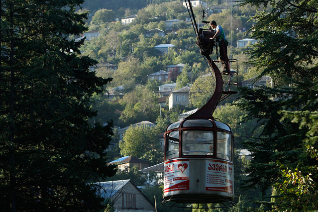 Seilbahn in Georgien
