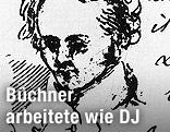 Alexis Muston: Skizze Büchners, um 1835