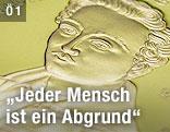 Gedenkmünze zum 200-Geburtstags Georg Büchners