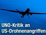 US-Drohne am Himmel