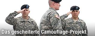 US-Soldaten in einer UCP-Uniform