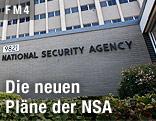 Hauptgebäude der NSA