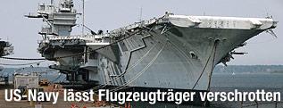 Flugzeugträger USS Forrestal