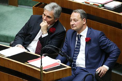 Werner Faymann und Andreas Schieder