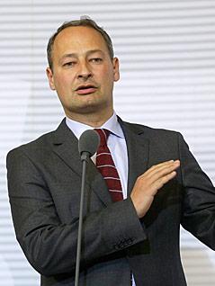 Der neue SPÖ-Klubobmann Andreas Schieder
