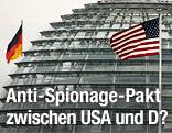 Deutsche und US-Fahne