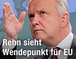 EU-Wirtschafts- und Währungskommissar Olli Rehn