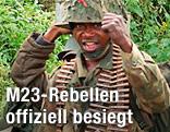 Kongolesischer Soldat