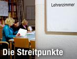 Blick in ein Lehrerzimmer