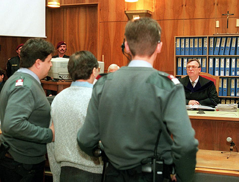 Franz Fuchs vor Gericht