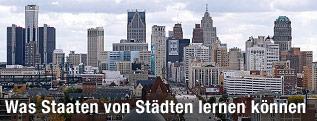 Skyline von Detroit