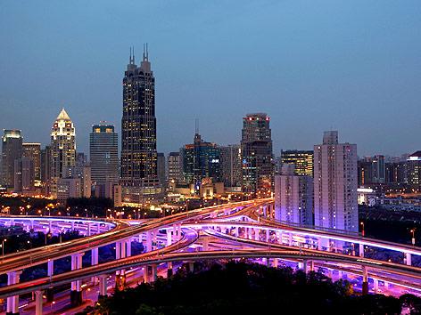 Skyline von Schanghai