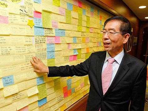 Bürgermeister von Seoul, Park Won-soon