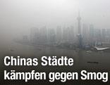 Schanghai im Smog