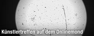 """Screenshot des Online-Projekts """"Moon"""" von Olafur Eliasson und Ai Weiwei"""
