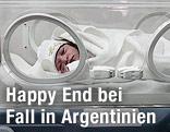 Baby im Krankenhaus