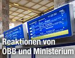 ÖBB-Anzeigentafel
