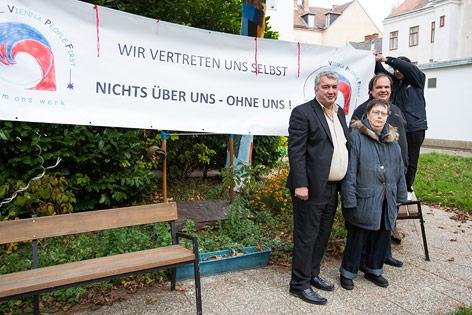 Mitglieder von Vienna People First