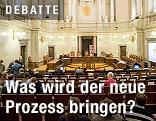 Großer Schwurgerichtssaal im Straflandesgericht Wien