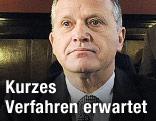 Ernst Strasser vor Gericht