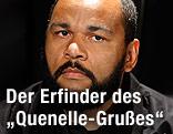 Der französische Komiker Dieudonné