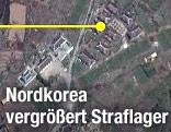 Satellitenafnahme eines nordkoreanischen Straflagers