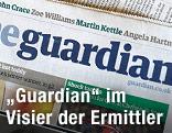 """Ausgabe einer """"Guardian""""-Zeitung"""