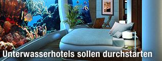 Zimmer des Poseidon Undersea Resorts