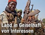 Soldat in Zentralafrika