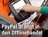 Paypal-Zahlungstation
