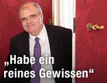 Der designierte Justizminister Wolfgang Brandstetter