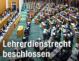 Plenum des österreichischen Parlaments
