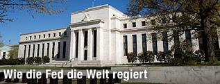 Das Federal Reserve Gebäude in Washington