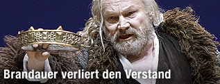 "Klaus Maria Brandauer als ""König Lear"""