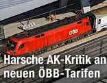 ÖBB-Zug im Wiener Hauptbahnhof