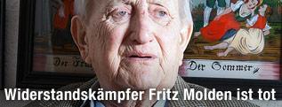 Widerstandskämpfer und Verleger Fritz Molden