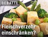 Gemüse mit Tofu