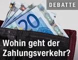 Geldbörse mit 20-Euro-Scheinen
