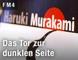 Buch von Haruki Murakami in einer Buchhandlung