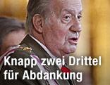 Spaniens König Juan Carlos
