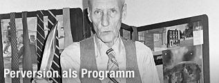 US-amerikanischer Schriftsteller und Künstler William Burroughs