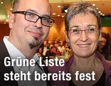 Ulrike Lunacek und Michael Reimon