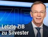 """Eugen Freund im """"ZiB""""-Studio"""