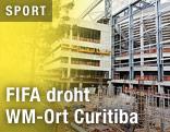 Baurückstand bei der Arena da Baixada