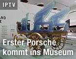 Erste Kutsche mit Elektroantrieb von Ferdinand Porsche