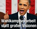 Barack Obama spricht zur Lage der Nation