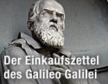 Statue von Galileo Galilei